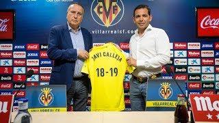El Villarreal CF renueva a Javi Calleja