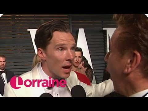 Benedict Cumberbatch Forgets He's Married | Lorraine