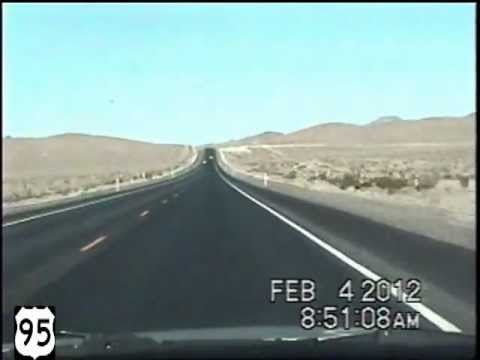 Las Vegas NV to Reno NV Time Lapse Drive.SPEED OF SOUND!