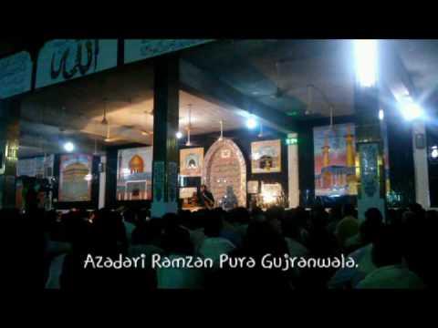 Zakir syed Imran Haider kazmi 1 Muharram Ramzan Pura Gujranwala