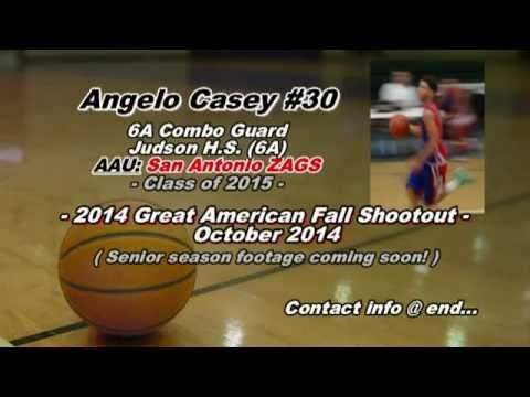 Angelo Casey - Sr. Season Highlights (More coming soon!)