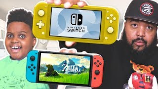 Should you get the Nintendo Switch or the Nintendo Switch Lite for Christmas?