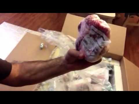 Unboxing Slankers Grass Fed Meat