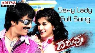 Daruvu - Sexy Lady Full Song || Daruvu Telugu Movie || Ravi Teja, Tapasee