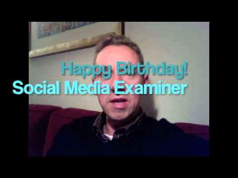 Happy Birthday Social Media Examiner