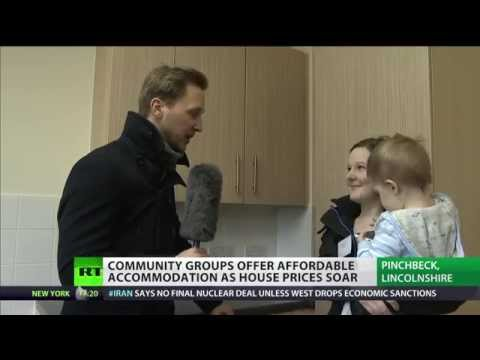 Community groups offer affordable accommodation as housing prices soar