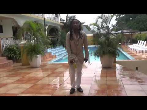 KANABIS BIGGING  UP HOTEL GRANDIOSA SAME DAY IN MONTEGO BAY JAMAICA