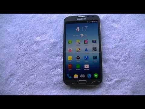 Samsung Galaxy Note 2 running Paranoid Android 4.2.2 Jelly Bean