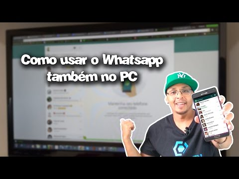 Como usar o whatsapp também no seu Computador