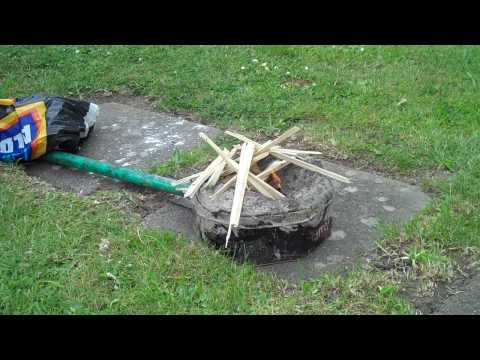 A very simple forge for Knife Making