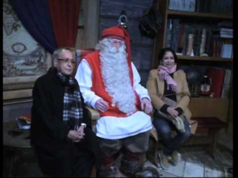 Pranab Mukherjee first Indian President to cross Arctic Circle to meet Santa Claus