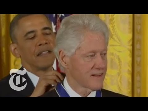 Obama Awards Presidential Medal of Freedom to Bill Clinton, 15 Others