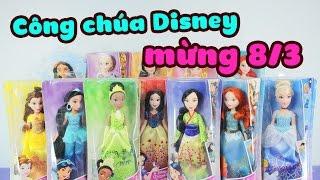 Mở đồ chơi Công Chúa Disney, mừng ngày 8-3 !!! - ToyStation 32