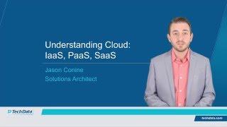 Understanding Cloud - IaaS PaaS SaaS