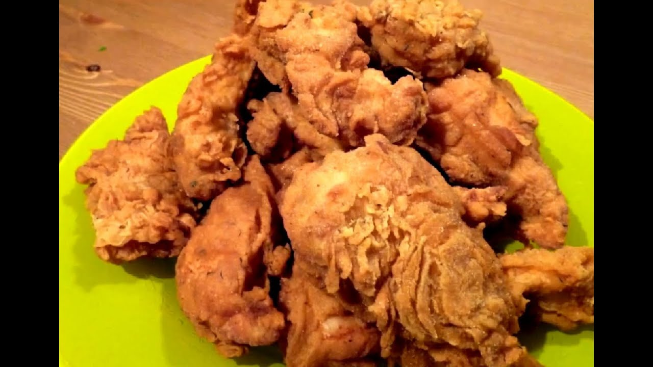 This is the BEST Oven Fried Chicken recipe! It comes crispy right out of the oven, is much lower in fat and made with lean chicken breast. It takes just like KFC but it's baked instead of fried! Includes step by step recipe video.