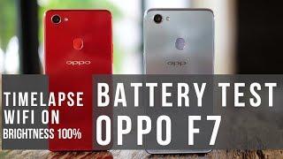 Battery Test OPPO F7