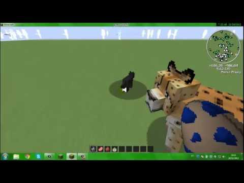 como domar alguns animais no minecraft mocreatures 1.4.2