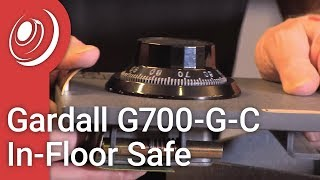Overview - Gardall G700-G-C In-Floor Safe