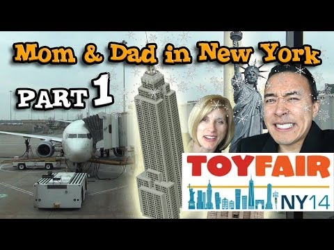 NY TOY FAIR Behind-the-scenes PART 1: Journey to the Big Apple!