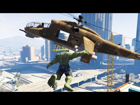 Grand Theft Auto 5 TOP Mods - HULK, TORNADO, GRAVITY GUN AND MORE!