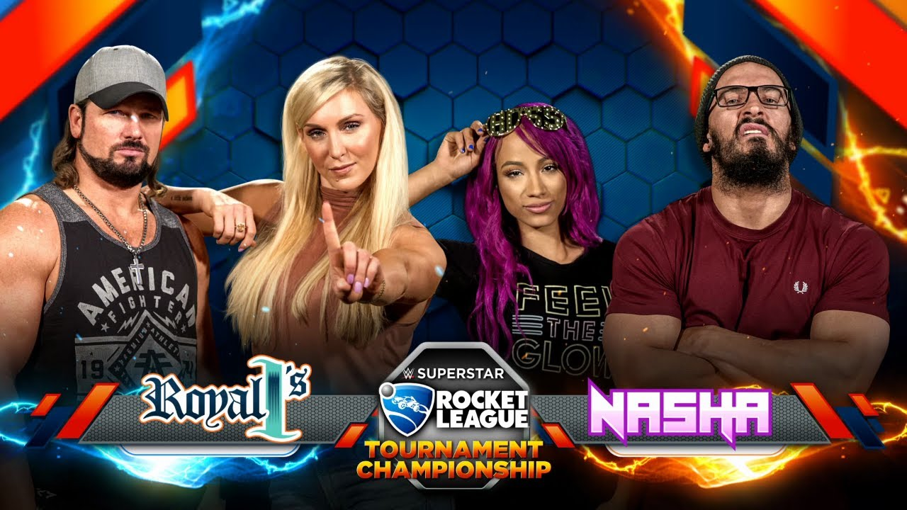 THE FINALS: NASHA (Sasha/Neville) vs. ROYAL 1's (Charlotte/AJ) — Rocket League Tournament