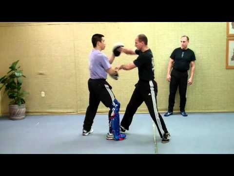 Jeet Kune Do - Rick Tucci demo and explains Jun Fan Jeet Tek Image 1