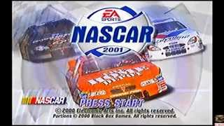 Let´s Play Nascar 2001 PS1 Intro & Creating Profile