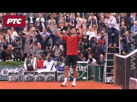 Tenis: Novak Đoković -  Endi Mari, Kraj Meča 3:1 (3:6, 6:1, 6:2, 6:4)