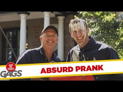 Absurd Messy Paint Prank