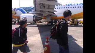 Manila to Puerto Princesa in seven minutes August 2014