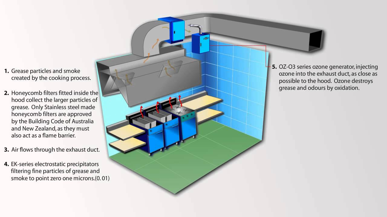 Video 6 Electrostatic Precipitator With Auto Wash System