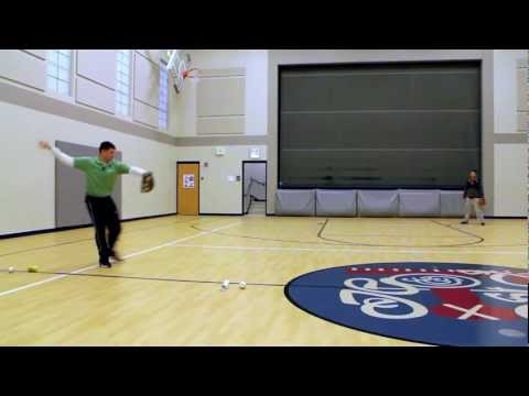 Baseball Throwing Drills to Help Square Up to the Target