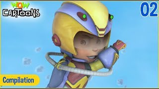 Vir: The Robot Boy | Hindi Cartoon For Kids | Compilation #2 | Wow Cartoons
