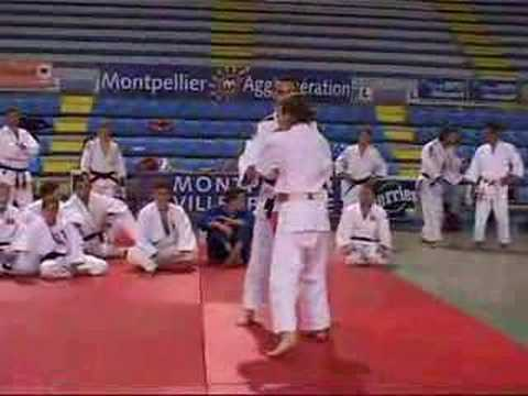 JUDO Ko uchi gari/Seoi nage par J. Bridge Image 1