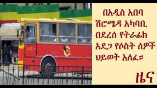 Ethiopia: 3 Died In Anbesa City Bus Accident Around Shiro Meda