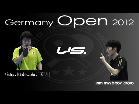 German Open 2012: Seiya Kishikawa  vs. Kim Min Seok