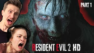 Scared Buddies Play Resident Evil 2 - Leon's Story
