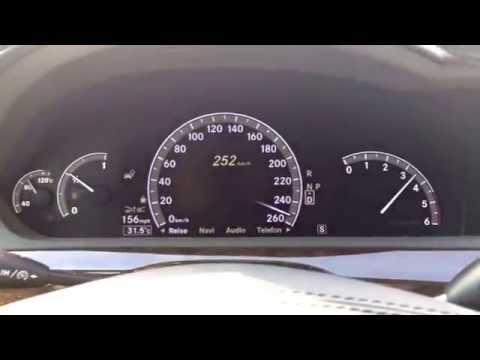 Mercedes-Benz S350 Bluetec top speed