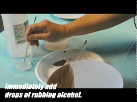 Quick & Easy - Rubbing Alcohol Technique