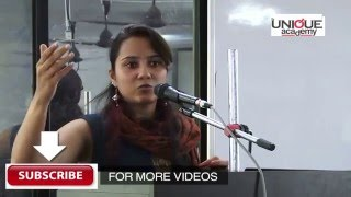 Aboli Naravane UPSC Topper 2015 Interaction with Students