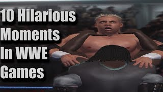 10 Most Hilarious Moments In WWE Games History