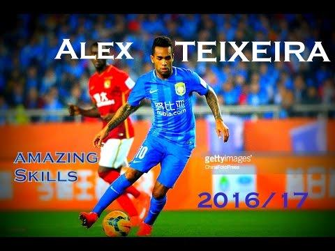Alex Teixeira ►Skills, Goals & Assists ● Jiangsu Suning | 2016/2017