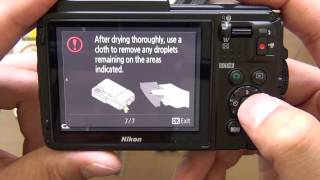 AW130 Nikon underwater camera unboxing - Quick vid