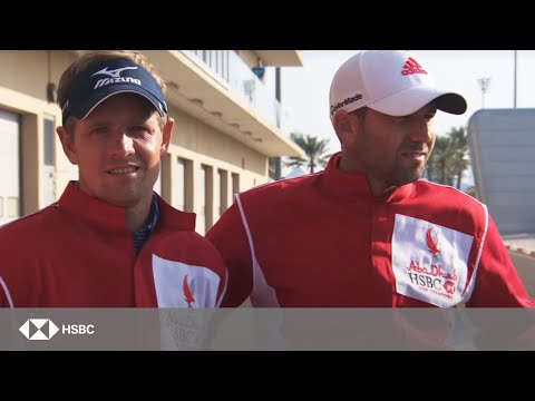 Abu Dhabi Golf Championship: Golf meets racing