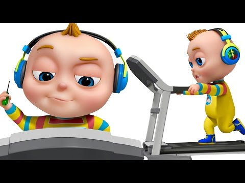 TooToo Boy - Treadmill Episode | Funny Cartoon Animation | Comedy Show For Children