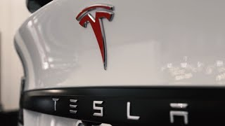 New Tesla Model X, Chrome Delete!