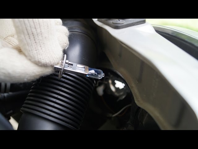 Opel Corsa - Front Right Lights Replacement - YouTube