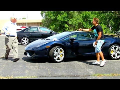 Poop On Lamborghini Prank Gone Horribly Wrong! video