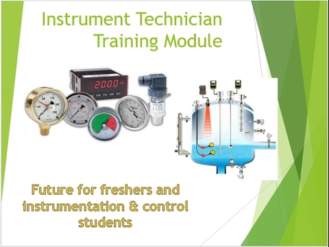 Instrumentation and control  training course part - 1