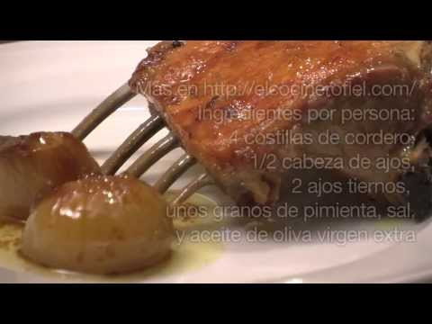 EL COCINERO FIEL #340 COSTILLAS DE CORDERO (CONFITADAS)